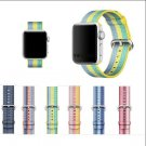 series 3/2/1 Woven Nylon Casual Sports Men Watch Band for Apple Watch Iwat