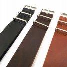 1PCS High quality 16MM 18MM 20MM 22MM 24MM PU leather nato straps Imitation