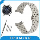 22mm Stainless Steel Watch Band for Samsung Gear S3 Classic / Frontier Butt