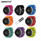 XBERSTAR Watchband Strap for SUUNTO CORE ALU BLACK Multisport GPS Watch Rep