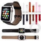 ProBefit Genuine Leather Watch Band with Connector Adapter strap for Apple