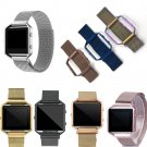23mm Milanese Loop Strap + Metal Frame for Fitbit Blaze Stainless Steel Wat
