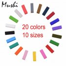 Watchbands Strap Loop ring Silicone Rubber Black Watch Bands Accessories Ho