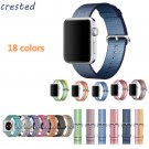 CRESTED Wove sport nylon watch band strap For Apple Watch band 42 mm 38 mm