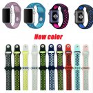 YIFALIAN band for apple watch sport strap adapter wrist silicone Colorful d