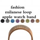 Milanese Loop Strap & Link Bracelet Stainless Steel band For Apple Watch ba