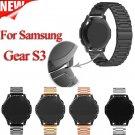 For Samsung gear s3 Smart Watch Metal Strap 3 link BraceletStainless Steel