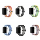 series 3/2/1 Woven Nylon Casual Sports Watch Band for Apple Watch Iwatch St