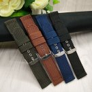 HENGRC Watch Band Outdoor Sports Nylon Nato Strap 18mm 20mm 22mm 24mm Handm