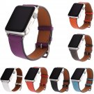 DAHASE Litchi Genuine Leather Band for Apple Watch Series 1 2 3 Strap for i