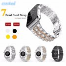 CRESTED 316L Stainless Steel band for apple watch 42mm/38 strap butterfly b