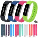 1 Set Small Size Women Replacement Silicone Wristband + Buckle For Fitbit A