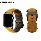 CHIMAERA  Vintage Genuine Calf Leather For Iwatch Watch Strap for Apple Wat