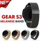 22mm width Watch Metal Strap Magnetic Release Milanes For Samsung Gear S3 S