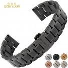 Stainless steel bracelet solid metal watchband general watch strap 14 15 16
