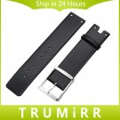 22mm Genuine Leather Watchband for K94231 Replacement Watch Band Stainless