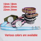 Watchband Nato Nylon Watch Band Various Colors Choose for Belt Wristband Gi