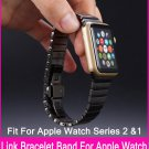 TOP Quality Stainless Steel Link Bracelet Bands For Apple Watch Series 3 &