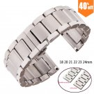 Metal Watch Bracelets Men High Quality Stainless Steel 18mm 20mm 21mm 22mm