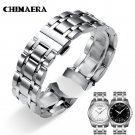 CHIMAERA 22mm 23 24 T035617 T035439 Watchband 316L Silver Solid Stainless S