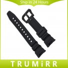 Silicone Rubber Watchband for SGW 100 Watch Band Sports Waterproof Wrist St