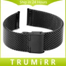 22mm Stainless Steel Watchband Smart Watch Band Strap for Moto 360 2 2nd 46