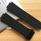 Nature rubber silicone strap watchband watch band for Hublot for Big bang 2