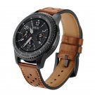 Kopeck Hole Style Genuine Leather Watch Strap for Samsung Gear S3 Classic F