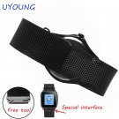 22mm Milanese Loop Strap For Pebble time round Men's Stainless Steel Band M
