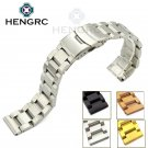 Stainless Steel Watchbands Bracelet 18mm 20mm 22mm 24mm Men Metal Brushed W