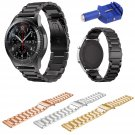 22mm Stainless Steel Wrist Strap For Samsung Gear S3 R760 R770 Watch Band F