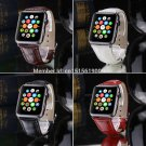 Leather Buckle Wrist Watch Band Strap Belt For Apple Watch 42mm 38MM For Sp