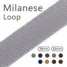 Milanese Loop Strap & Link Bracelet Stainless Steel strap For Apple Watch b