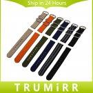 Genuine Nylon Watchband 18mm 20mm 22mm 24mm Universal Watch Band Zulu Strap