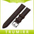 13mm 18mm 20mm Genuine Leather Watchband Universal Men Women Watch Band Wri