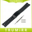 22mm Stainless Steel Watch Band Metal Watchband Bracelet Strap for Smartwat