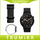 18mm Milanese Loop Watchband for Huawei Watch / Fit Honor S1 Magnet Lock Ba