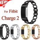 Stainless Steel Replacement watch band Link Bracelet for Fitbit Charge 2 ba