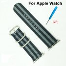 High Quality NYLON NATO Band for Apple Watch Strap Wrist Colorful Fashion S
