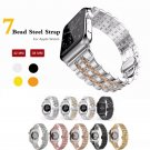 CRESTED 316L Stainless Steel band for apple watch 38mm 42mm strap butterfly