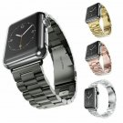 Stainless Steel Space Gray Designer Watch Band for Apple Watch Bands 38mm 4