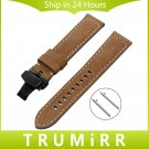 Italian Genuine Leather Watchband 22mm Quick Release for Samsung Gear S3 Cl