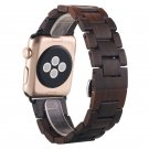 Fashion Wooden For Apple Watch Band 38mm 42mm Replacemnet Bracelet Wood Str