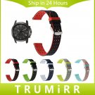 Quick Release Silicone Rubber Watch Band for Fossil Q Tailor Gazer Founder