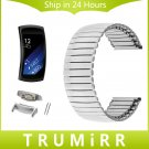 Elastic Stainless Steel Watchband with Adapters for Samsung Gear Fit 2 SM R