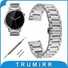 22mm Stainless Steel Watch Band Bracelet for Moto 360 2 Gen 46mm Samsung Ge