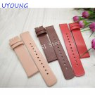For moto 360 (2nd Gen) women Genuine Leather Watch band 16mm Ladies Smart W