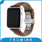 Italian Genuine Leather Watchband Crazy Horse Strap for iWatch Apple Watch