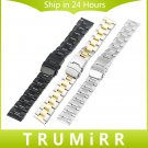 18mm 20mm 22mm 24mm Universal Watchband 3 Pointer Stainless Steel Watch Ban