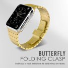 CRESTED Luxury watchband metal straps For Apple watch band 42mm/38 stainles